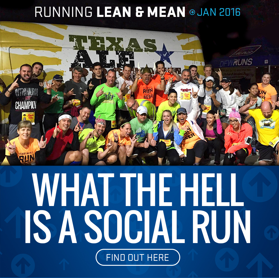 What the Hell is a Social Run