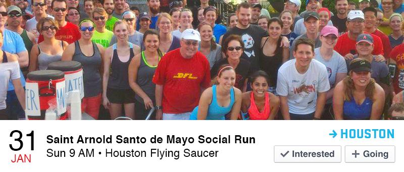 Saint Arnold Santo de Mayo Social Run
